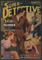 Super Detective 1941 December.   Pulp
