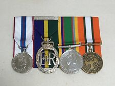 Territorial Decoration, Jubilee, Cadet, MFO Sinai, Court Mounted Full Medals