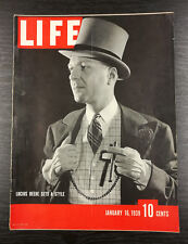 LIFE Magazine, January 16th 1939, Lucius Beebe