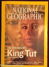 National Geographic June 2005 The New Face of King Tut His Life and Death