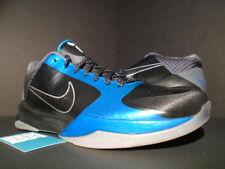037de1d314bd 2010 Nike Zoom Kobe V 5 Dark Knight Black Grey Neptune Blue Silver  386429-001