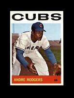 1964 Topps Baseball #336 Andre Rodgers (Cubs) NM