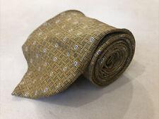 Jos. A. Bank Men's Yellow Novelty Geometric Belts Silk Tie $125