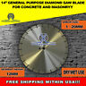 14-Inch General Purpose Laser Welded  Diamond Saw Blade for Concrete & Masonry