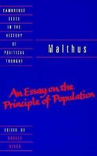 Cambridge Texts in the History of Political Thought: Malthus : An Essay on...