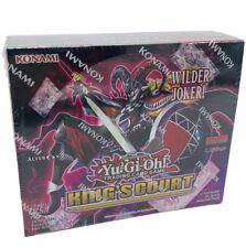 Yu-Gi-Oh! Display King's Court 1.Auflage Deutsch Special Booster Box