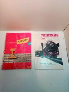 Catalogue Fleischmann 1969 Plans De Réseaux ho train Vintage Toys