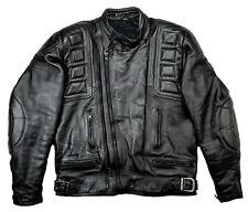 BELSTAFF Outlaw Biker Motorrad Harley Lederjacke Schwarz 54 L-XL