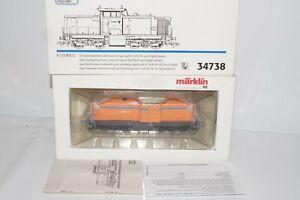 B 199:Märklin SoMo 34738 Diesellok BR V125 der WEG delta/Dig Neuwertig+OVP