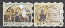 SERBIA 2014 **MNH  SC#  Christmas stamps