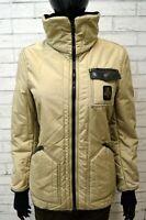 REFRIGIWEAR Donna Giubbotto Giacca Taglia Size S Piumino Jacket Cappotto Slim
