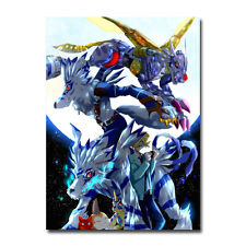 Digimon Adventure Tri Anime Poster Ishida Dahe Gabumon Silk Poster 13x20 inch