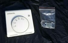 NEW! Ambiente Two Wired Room Thermostat TR-010X T6360A white