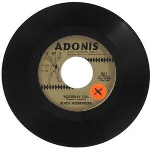 BLUES MESSENGERS (BETTS, OAKLEY) Yesterday Girl 1968 ADONIS PROMO 45 ~ RARE!!!!