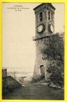 cpa CANNES (Alpes Maritimes) Le CLOCHER de la PAROISSE Le PORT Collection EMILE
