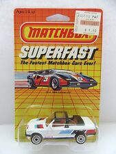 Matchbox Superfast 39d BMW 323i Cabriolet - White - Alpina - Mint/Boxed