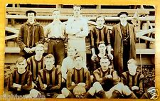 1910-1911 Falmouth FALMO A.F.C. Football Team Soccer Photo Postcard Cornwall UK