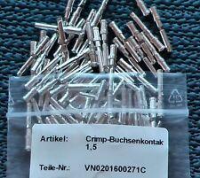 100 St. Crimp Buchsenkontakt VN 02 016 0027 1 für Harting Amphenol,Multicore,