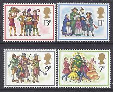 1978 GB CHRISTMAS SET OF 4 FINE MINT MNH/MUH SG1071-SG1074