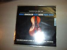 Quartets for Our Time CD Doric Jerusalem Elias Ebene Pavel Haas