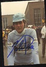 VALERIO PIVA Foto Signée BIANCHI PIAGGIO cyclisme ciclismo GAND WEWELGEM 82 vélo