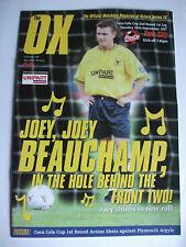 Football Programme: Oxford United v York City Played September 16th 1997