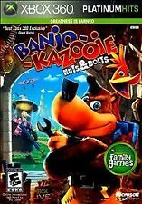 Banjo-Kazooie: Nuts & Bolts -- Platinum Hits (Microsoft Xbox 360, 2010)