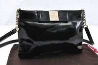 Authentic Kate Spade Shoulder Bag Leather Black 94989