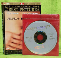 American Beauty (DVD, 2000, Widescreen) Kevin Spacey, Annette Bening