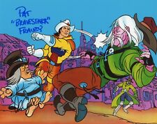 "PAT FRALEY & ALAN OPPENHEIMER Authentic Hand-Signed ""BRAVESTARR""8x10 photo PROOF"