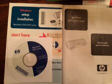 HP Deskjet 3300 Series Printer Software CD Windows 98 ME 2000 XP Computer Tech