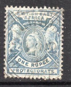 B.E.A.: 1896-1901 QVI 1 Rupee SG 75 used