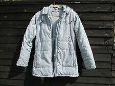 Girls KAPPA - Light Blue/ Grey Hooded Sport Puffer Coat Kids - YXXXL 176cm
