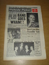 MELODY MAKER 1960 JUNE 4 JOHN BARRY VERA LYNN JOHNNY DANKWORTH BING CROSBY +