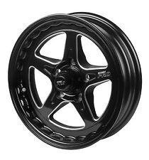 "Street Pro ll Convo Wheel Black 15x4"" 5x4.5 Ford Bolt Circle 2"" Back Space NEW"