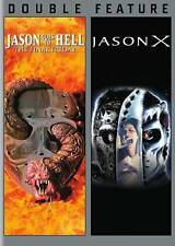 JASON GOES TO HELL/JASON X (DVD, 2015) NEW
