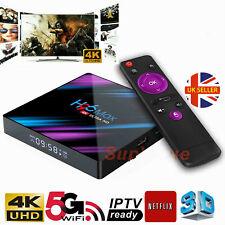 H96 Max Android 9.0 Smart TV Box 4GB+32GB HD Media Player 4K 2.4G/5GHz WIFI LH