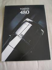 Volvo 480 range brochure Aug 1993
