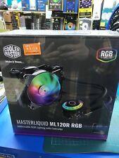 Cooler Master MasterLiquid ML120R RGB CPU Liquid Water Cooler Heat Sink Cooling