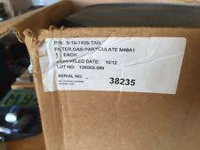 M48A1 CBRN Canister Military NEW OLD STOCK OLD DATE ON UNIT