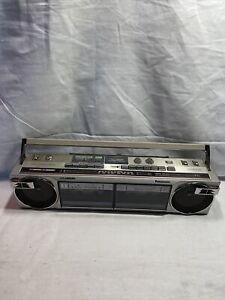 Vintage Panasonic RX-f22 Radio Dual Cassette Boombox Ambience E1