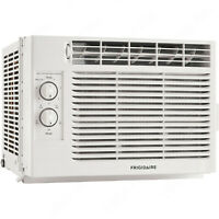 Frigidaire 5000 BTU Compact Window Air Conditioner, 150 Sq Ft Home AC Unit Mount