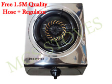Brand New MCS Single Burner Auto-Ignition Gas Stove-Stainless Steel