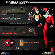 Mezco One -12 Collective DC Harley Quinn Deluxe Edition Action Figure (NEW)