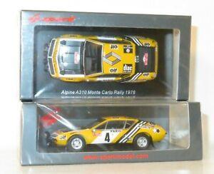 1/43 Alpine Renault  A310 ELF DIAC Rally Monte Carlo 1976 #4 J.P.Nicolas