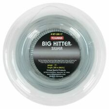 Tourna Big Hitter Silver 17G Reel Tennis String (   Gray )