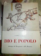 Repaci, Navone-DIO E POPOLO- Risorgimento e resistenza, Bottega d'Erasmo 1961