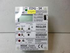 NUGA- TEMPERATURE CONTROLLER EDIG-SK - with Dry Run Protection 0-130 Degree C