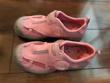 NEW girls HI-TEC SHOES walking hiking CLOSED TOE pink PHIBIAN zip SNEAKER size 2