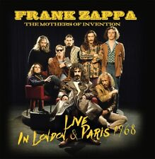 FRANK ZAPPA AND THE MOTHERS OF INVENTION - Live 1968. New 2CD + sealed